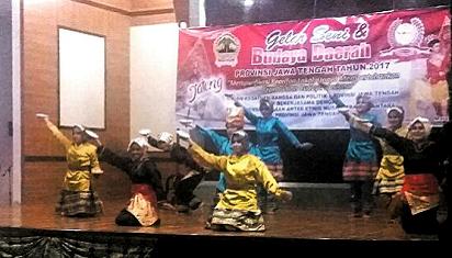 Rekatkan Berbagai Etnis, Kesbangpol Jawa Tengah Gelar Pentas Budaya
